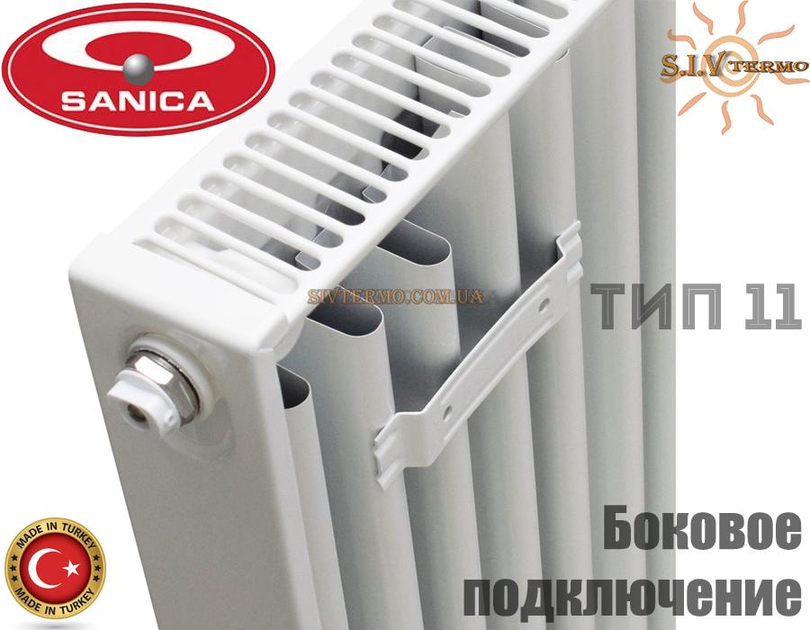 Sanica  003043  Радіатор сталевий Sanica 11 тип 500x1900 бокове підключення  Интернет - Магазин SIVTERMO.COM.UA все права защищены. Использование материалов сайта возможно только со ссылкой на источник.    Радіатори Sanica