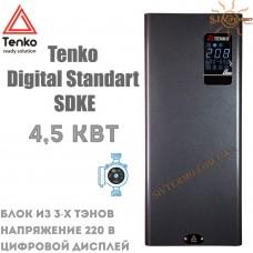 Котел электрический Tenko Digital Standart SDKE 4,5 кВт 220 В настенный