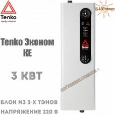 Котел электрический Tenko Эконом КЕ 3 кВт 220 В настенный