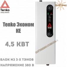 Котел электрический Tenko Эконом КЕ 4,5 кВт 380 В настенный