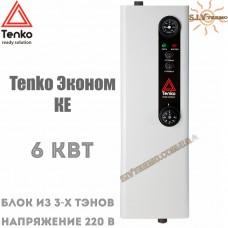 Котел электрический Tenko Эконом КЕ 6 кВт 220 В настенный
