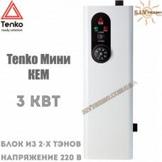 Котел электрический Tenko Мини КЕМ 3 кВт 220 В настенный