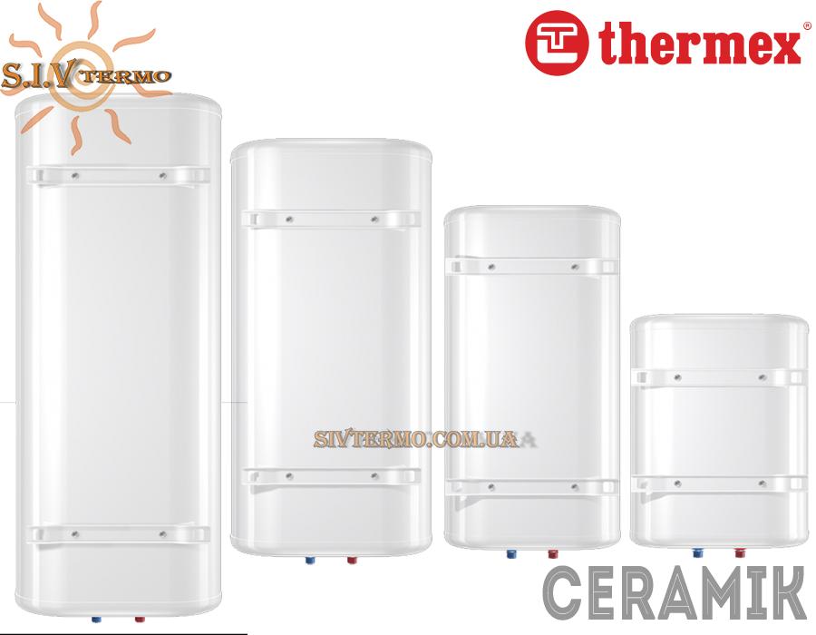 Thermex  004025  Водонагреватель Thermex Ceramik 100 V вертикальный  Интернет - Магазин SIVTERMO.COM.UA все права защищены. Использование материалов сайта возможно только со ссылкой на источник.    Водонагреватели электрические