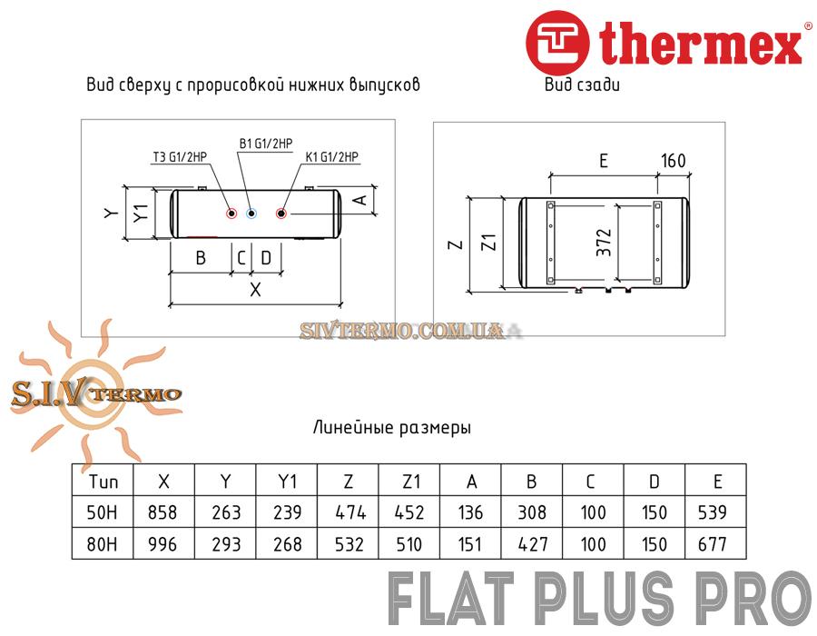 Thermex  000465  Водонагреватель Thermex Flat Plus PRO IF 80 H горизонтальний  Интернет - Магазин SIVTERMO.COM.UA все права защищены. Использование материалов сайта возможно только со ссылкой на источник.    Thermex