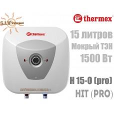 Водонагреватель Thermex HIT (PRO) H 15-O (pro) над мойкой