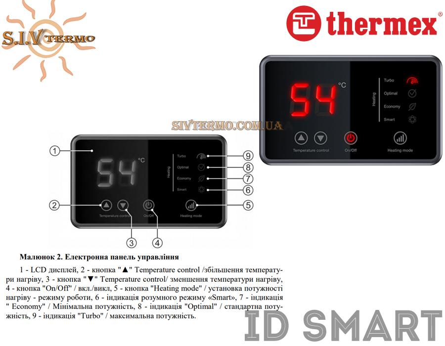 Thermex  000506  Водонагреватель Thermex ID SMART ID 30 V вертикальный   Интернет - Магазин SIVTERMO.COM.UA все права защищены. Использование материалов сайта возможно только со ссылкой на источник.    Thermex