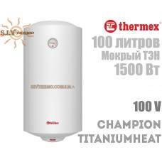 Водонагрівач Thermex Champion TitaniumHeat 100 V вертикальний