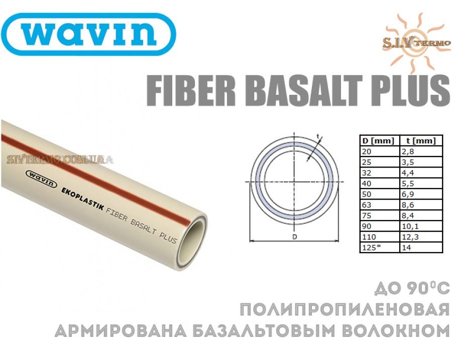 Wavin Ekoplastik  001583  Труба PPR Fiber Basalt Plus DN 25 (S3,2/SDR7,4) Wavin Ekoplastik  Интернет - Магазин SIVTERMO.COM.UA все права защищены. Использование материалов сайта возможно только со ссылкой на источник.