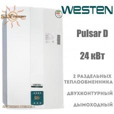 Газовый котел Westen Pulsar D 24 кВт дымоходный