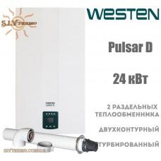 Газовый котел Westen Pulsar D 24 кВт турбо