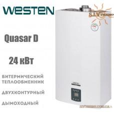 Газовый котел Westen QUASAR D 24 i дымоходный