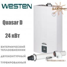 Газовый котел Westen QUASAR D 24 Fi 24 кВт турбо