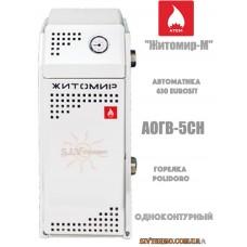 Котел Житомир-М АОГВ 5 СН парапетный одноконтурный газовый