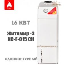 Газовый котел Житомир-3 КС-Г-015 СН одноконтурный дымоходный