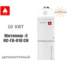 Газовый котел Житомир-3 КС-ГВ-010 СН двухконтурный дымоходный