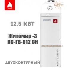 Газовый котел Житомир-3 КС-ГВ-012 СН двухконтурный дымоходный