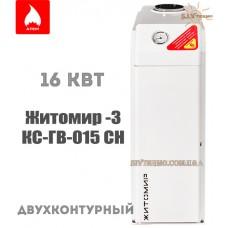 Газовый котел Житомир-3 КС-ГВ-015 СН двухконтурный дымоходный