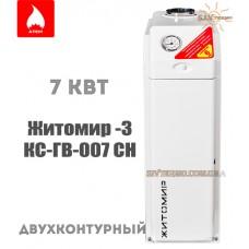 Газовый котел Житомир-3 КС-ГВ-007 СН двухконтурный дымоходный