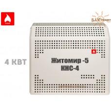 Газовый конвектор Житомир-5 КНС-4 (4 кВт ) стальной теплообменник