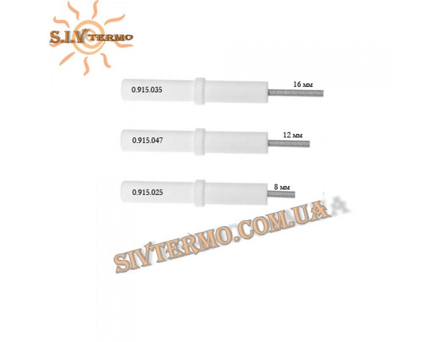 SIT Group  00025  Электрод розжига (керамический) L = 8 мм  Интернет - Магазин SIVTERMO.COM.UA все права защищены. Использование материалов сайта возможно только со ссылкой на источник.    Запасные части автоматика EuroSit