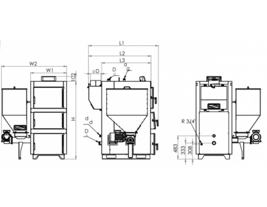 Caldera Heating Group (Турция)  000595  Caldera Caltherm CTX 200SF (230кВт) (Сталь)  Интернет - Магазин SIVTERMO.COM.UA все права защищены. Использование материалов сайта возможно только со ссылкой на источник.    Твердопаливні котли