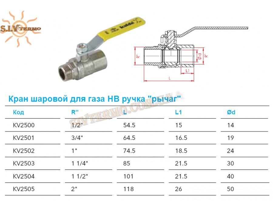 Kalde   002623  Кран газ. 1/2 ВН Kalde - ручка  Интернет - Магазин SIVTERMO.COM.UA все права защищены. Использование материалов сайта возможно только со ссылкой на источник.
