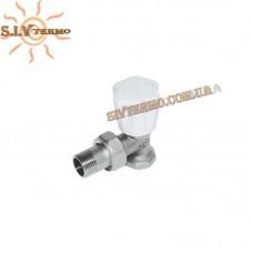 Кран радиаторный1/2 угловой верхний Kalde