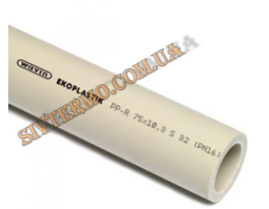 Wavin Ekoplastik  PPR S 3,2 / SDR 7,4 / (PN 16) dn 20х2,8  Труба PN 16 Ek 20х2,8  Интернет - Магазин SIVTERMO.COM.UA все права защищены. Использование материалов сайта возможно только со ссылкой на источник.