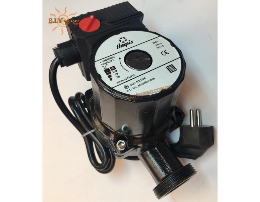 Ampis   RS 25/6-180 (BLACK-W) 100 вт  Насос AMPIS 25/6-180 (BLACK-W)   Интернет - Магазин SIVTERMO.COM.UA все права защищены. Использование материалов сайта возможно только со ссылкой на источник.